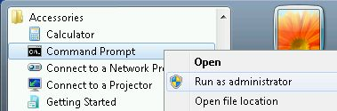 Run Elevated Command Prompt